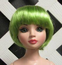 "Monique Gold Doll Wig ""Bubbles"" Size 6/7 - Lime Green"