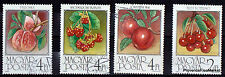 HONGRIE  9 TIMBRES  FRUITS  Scott 1088/95      97M7A