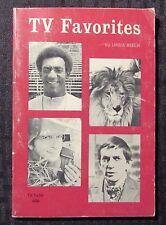 1971 Tv Favorites by Linda Beech Vg- 3.5 2nd Sbs Paperback - Dark Shadows