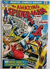 🔥 Amazing Spider-Man #125 2Nd App Man-Wolf Mid Grade Avengers Venom 300