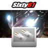 Motorcycle White LED Side Marker Light Parking Bulbs for Kawasaki Suzuki Yamaha
