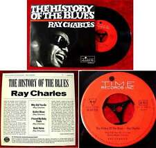 EP Ray Charles: The History of the Blues (Time 40 326) D - im Ariola Vertrieb