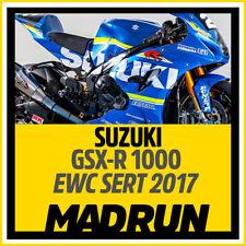 Kit Adesivi Suzuki GSX-R Team Sert EWC 2017 - High Quality Decals
