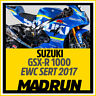 Kit Adesivi Suzuki GSX-R Team Sert EWC 2017 - High Quality Decals