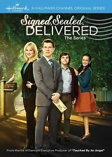 Signed Delivered Season 1 DVD The Complete First Series One Collection