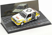 RENAULT 11 TURBO RAGNOTTI RALLY PORTUGAL 1987  1/43 IXO   altaya