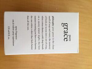 PHILOSOPHY PURE GRACE HUGE 120ML BOTTLE-  NEW AND BOXED EAU DE TOILETTE SPRAY