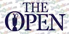 British Open Golf Logo -  Vinyl Decal stickers - Made in USA