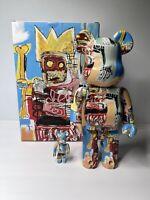 Medicom BE@RBRICK Jean-Michel Basquiat #6 100% 400% Bearbrick Figure Set