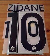France WORLD CUP 2014 Away Shirt 2014-15 ZIDANE#10 SportingiD Name Number Set