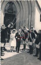 Nr13458 Foto PK Studentika  Burschenschaft Hochzeit um 1955 Graz Steiermark