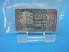 RARE Early 1980's Vintage 1oz .999 Silver Art Bar Oxford Alaska Big Dipper