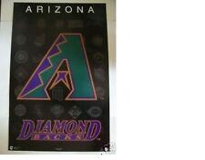 New listing ESTATE FIND NO PINHOLES MINT 1996 ARIZONA DIAMONDBACKS MLB BASEBALL LOGO POSTER