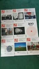 LEICA LFI MAGAZINES 2014 LOT OF 9 LEICA FOTOGRAPHIE INTERNATIONAL