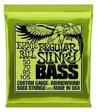 Ernie Ball 2832 Regular Slinky Bass Allround 050-105 4-String Bass Saiten Nickel