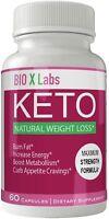 Bio X Labs Keto Diet Pills Advanced Weight Loss Supplement - Bio x Keto Weigh...
