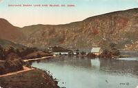 Rare Vintage Postcard Gougane Barra Lake & Island, Co. Cork Ireland Unposted.