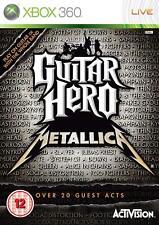 Guitar Hero: Metallica Xbox 360, play the big hits + 20 guest appearances New