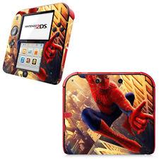 Spider Man SpiderMan Vinyl Skin Decal Sticker for Nintendo 2DS Console Skins Set