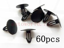 60x Nylon Windscreen Cowl Scuttle Panel Retainer Clips For Honda 91501-SEA-003