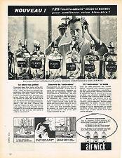 PUBLICITE ADVERTISING 024   1960   AIR-WICK      anti- odeurs