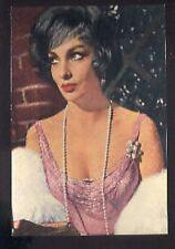 GINA LOLLOBRIGIDA bust vintage 60s cp carte postale postcard photo #F215