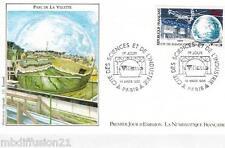 1986**ENVELOPPE*FDC 1°JOUR!!**LA VILETTE CITE DES SCIENCES**TIMBRE Y/T 2409