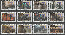 France 3995-4006 Gothic Cathedrals (2011 issue)