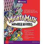 Riverdeep Mighty Math Number Heroes (Windows, Mac) Llke New - Sealed