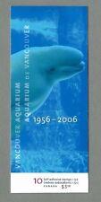 CANADA 2006 - Booklet - VANCOUVER AQUARIUM  - 10 @ 51c - Complete MNH