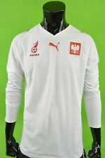 2008 Puma Poland Home Football Shirt POLSKA LS Jersey PLAYER ISSUE SIZE L  adults d22a26bc8