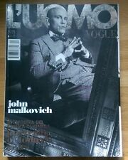 L'UOMO VOGUE  Magazine 393 John Malkovich Tilda Swinton September 2008 Benicio