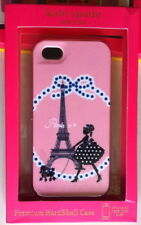 Three-piece combination plastic phone case  for Iphone5/5s pink/white