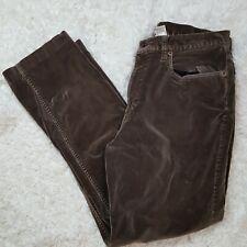 L.L. Bean Brown Velvet pants Women's Size 12