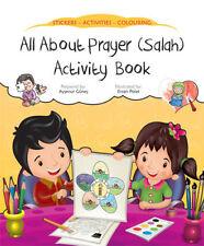 All About preghiera (Salah) Libro di attività (adesivi da colorare per bambini)