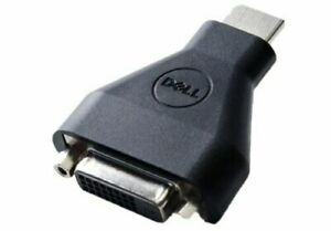 Genuine Dell HDMI To DVI Display Video Adapter P/N 0V1F2T * Brand New *