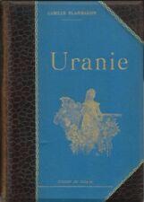 """RARE EO 1889 RELIÉ & ILLUSTRÉE """" LUXE """" + CAMILLE FLAMMARION : URANIE"""
