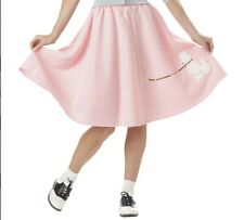Adult Pink Poodle Skirt - Halloween Costume