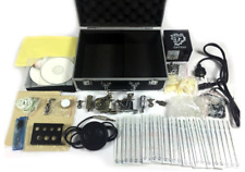 New 2 Machines Tattoo Machine Guns Complete Kit Supper Value Pack w carry case