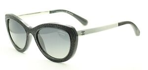 CHANEL 6046Q c.501/S8 3P Sunglasses Shades Glasses Eyewear Frames with Case Used