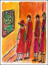 L'EXPO PICASSO  modern art oil painting