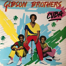 GIBSON BROTHERS - Cuba (LP) (VG-/VG-)