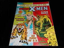 Album relié des X-Men 2 contient Les étranges X-Men 4 & 5