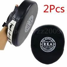 2x Boxing Mitt MMA Target Focus Punch Pad Training Glove Karate Thai Kick Muay