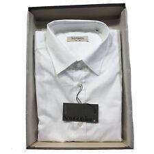 NERO GIARDINI Camicia Uomo AA9914 - MADE IN ITALY - Tg. L - Colore Bianco