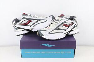 NOS Vintage Saucony 3D Grid Regulate Jogging Running Shoes Sneakers Mens 9.5
