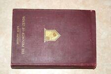 BOOK ANTHONY HOPE PRISONER of ZENDA HOLT 1898 ILLUSTRATED