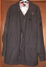 DC Wool Trench Coat Sz XL, Pristine Condition Never Worn