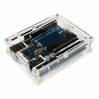 Clear Acrylic Box Enclosure Transparent Case Shell F Arduino Uno R3 Board Module