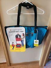"BIAGGI ZIPSACK FOLDING Garment Bag BRAND NEW 17"" x 22"" x 11"" Hangeroo"